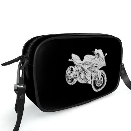 Camera Bag - Superbike Sketch