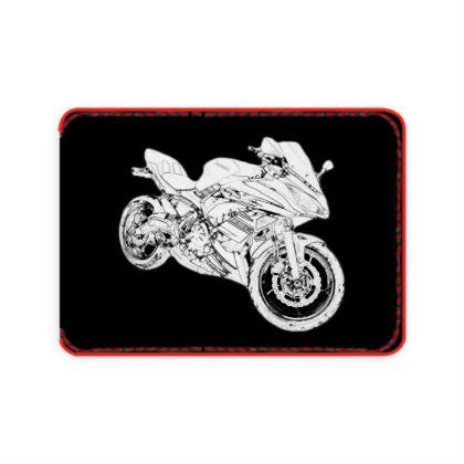 Card Holder - Superbike Sketch