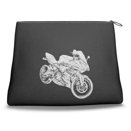 Clutch Bag - Superbike Sketch