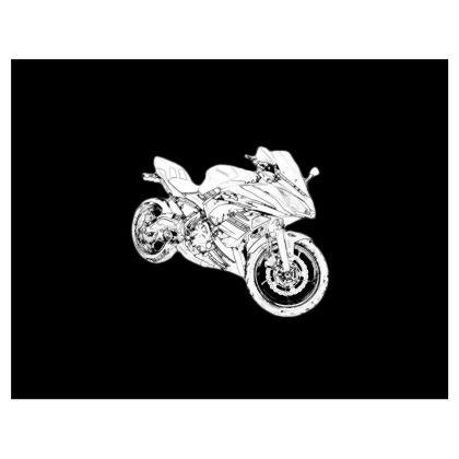 Handbags - Superbike Sketch