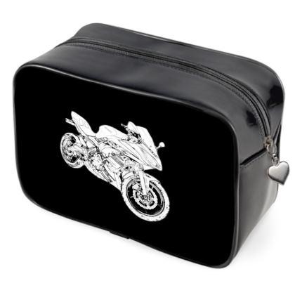 Wash Bags - Superbike Sketch