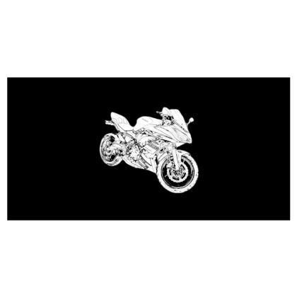 Travel Wallet - Superbike Sketch