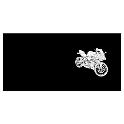 Mens Wallet - Superbike Sketch