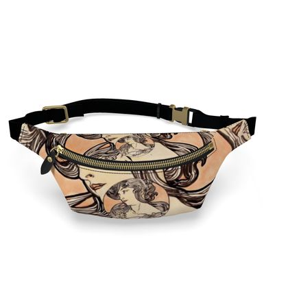 Fanny Pack - Alphonse Maria Mucha Stained Glass #1