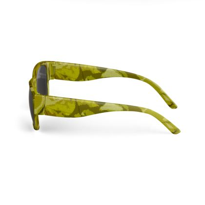 Sunglasses - Honeycomb Marble Abstract 3