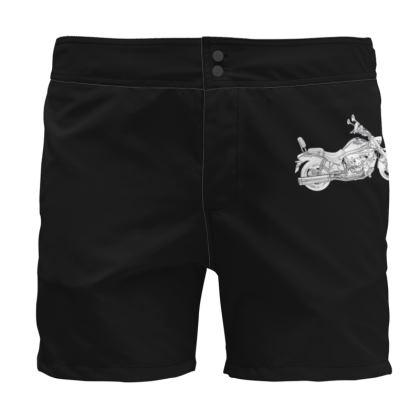Board Shorts - Cruiser Sketch