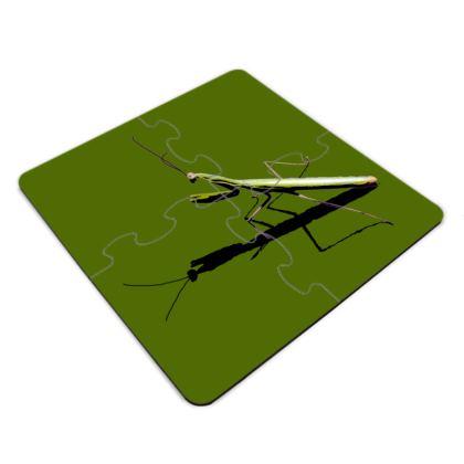 Jigsaw Coasters - Mantis