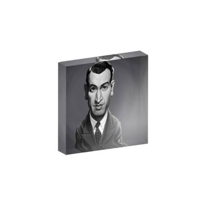 James Stewart Celebrity Caricature Acrylic Photo Blocks