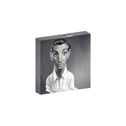 Robert Mitchum Celebrity Caricature Acrylic Photo Blocks