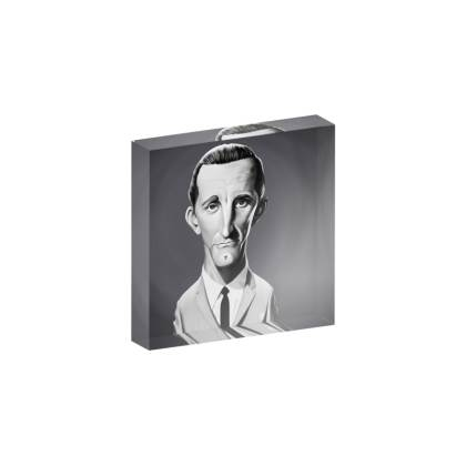 Kirk Douglas Celebrity Caricature Acrylic Photo Blocks