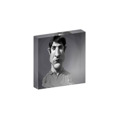 Dustin Hoffman Celebrity Caricature Acrylic Photo Blocks