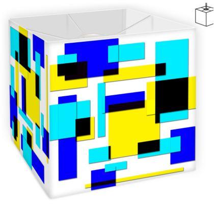 Square Lamp Shade - Bright Squares