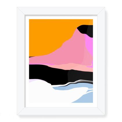 The Bay Framed Art