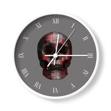 Wall Clocks - Cheerful Skull