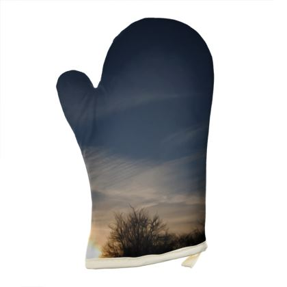 Oven Glove - Low Sunset