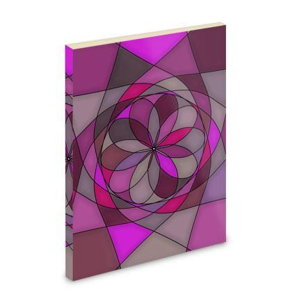 Pocket Note Book - Pink spiral