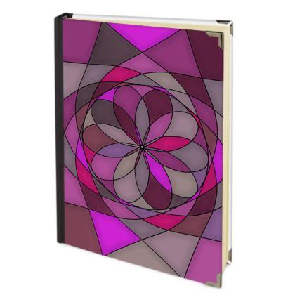 Address Book - Pink spiral