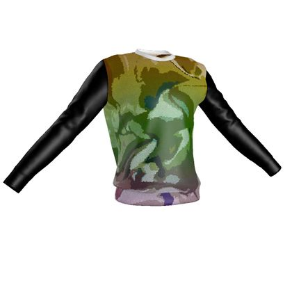 Sweatshirt - Honeycomb Marble Abstract 4