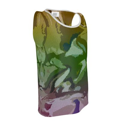 Vest - Honeycomb Marble Abstract 4
