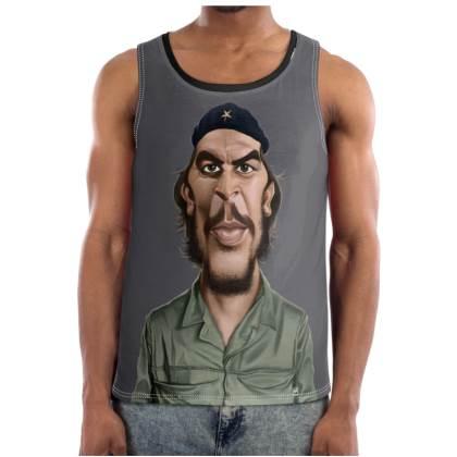 Che Guevara Celebrity Caricature Cut and Sew Vest