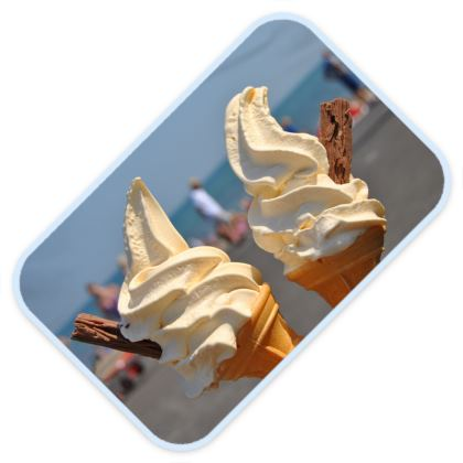 Baby Changing Mats - Ice Cream