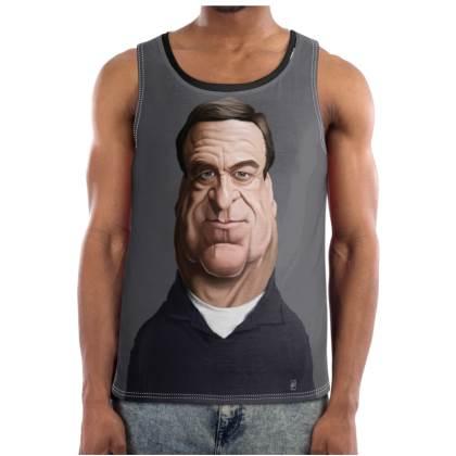 John Goodman Celebrity Caricature Cut and Sew Vest