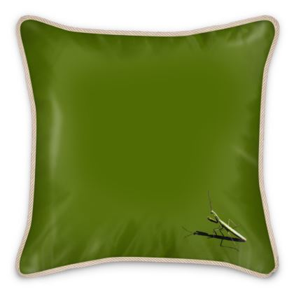 Silk Cushions - Mantis