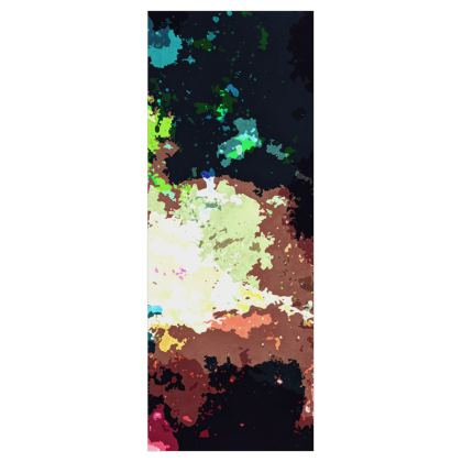 Roller Blinds (61cmx162cm) - Green Flame Creature Abstract
