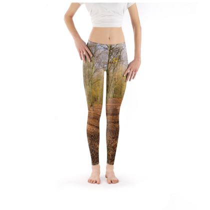 Leggings - Open Clearing in Clapham Woods