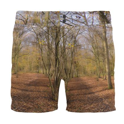 Board Shorts - Open Clearing in Clapham Woods