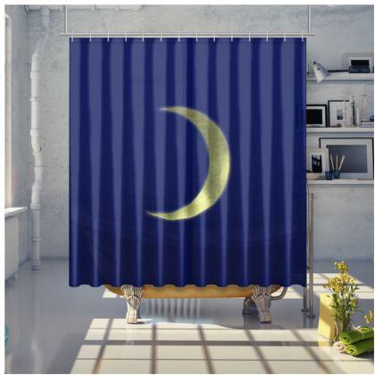 Shower Curtain - Vinyl Moon