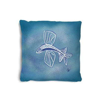 Small Flying Fish Cushion