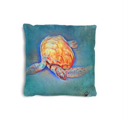 Turtle 1 Small Cushion