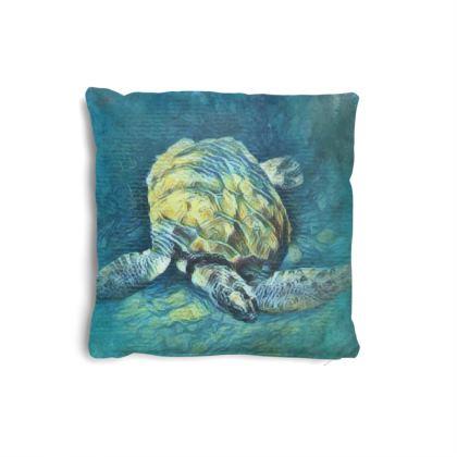 Turtle 2 Small Cushion