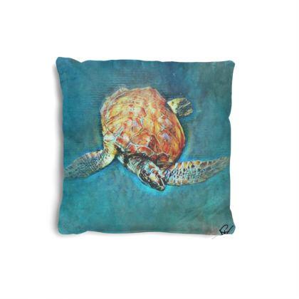 Turtle 3 Small Cushion
