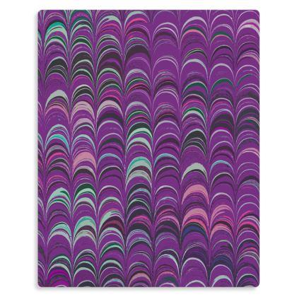 Metal Prints - Around Ex Libris Pink Remix (1800 -1950)