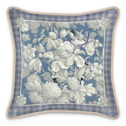 Dreamtime Silk Cushion