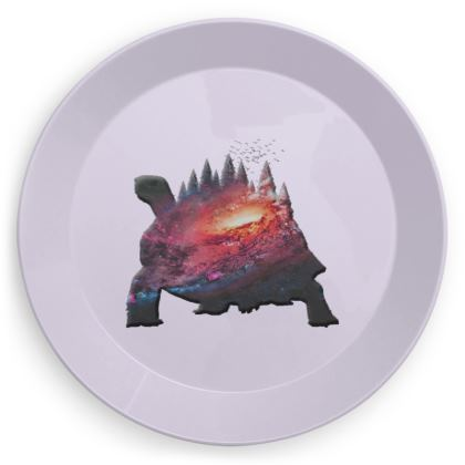 Party Plates - Tortoise Earth