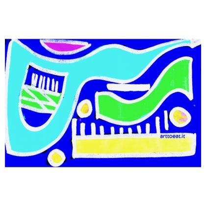 RIO  ART TRAVEL WALLET