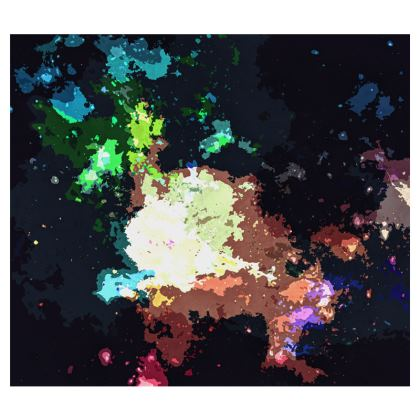 Espadrilles - Green Flame Creature Abstract