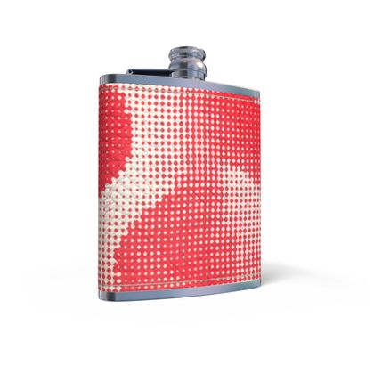 Leather Wrapped Hip Flask - Endleaves of Art. Taste. Beauty (1932) Remix