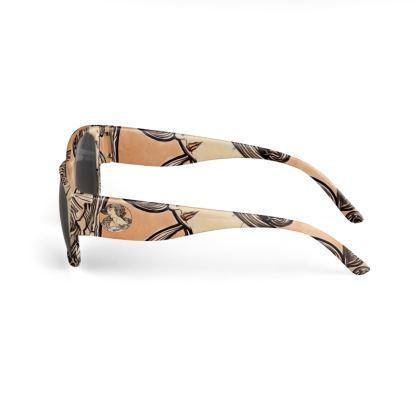 Sunglasses - Alphonse Maria Mucha Stained Glass #1