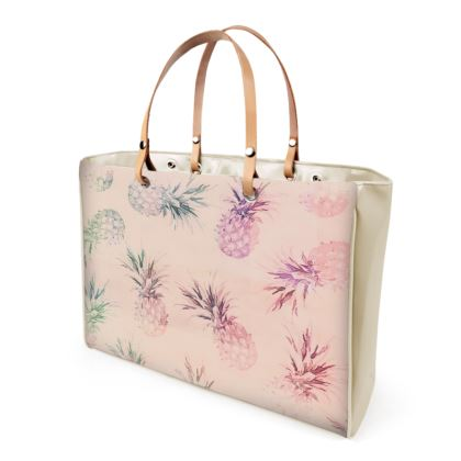 Pastel Pineapple Handbag
