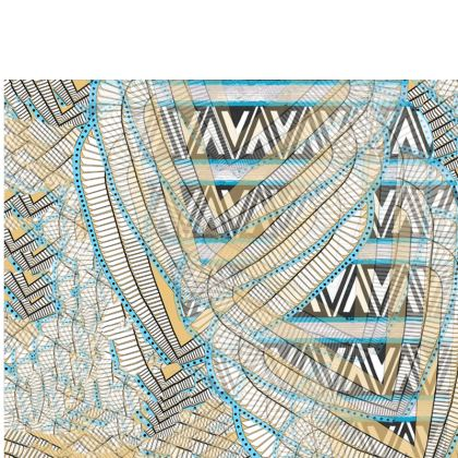 Ma'at Wings Triangles - Travel Wallet