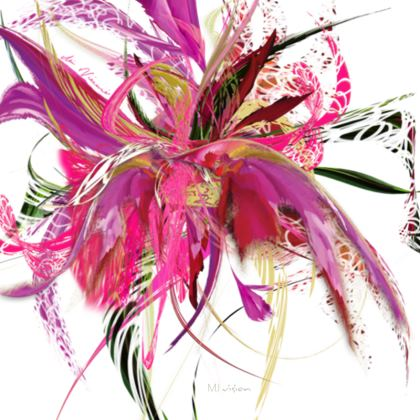 Coasters - Glasunderlägg - Pink Flow