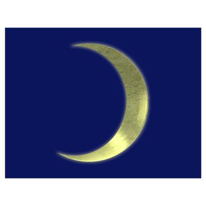 Mouse Mat - Vinyl Moon