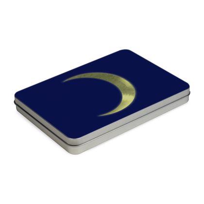 Pencil Case Box - Vinyl Moon
