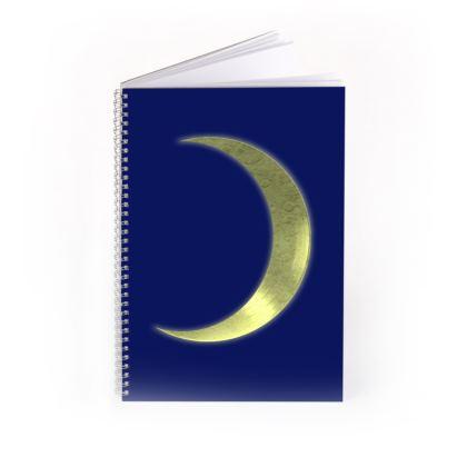 Spiral Note Books - Vinyl Moon