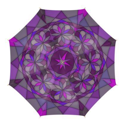 Umbrella - Purple spiral