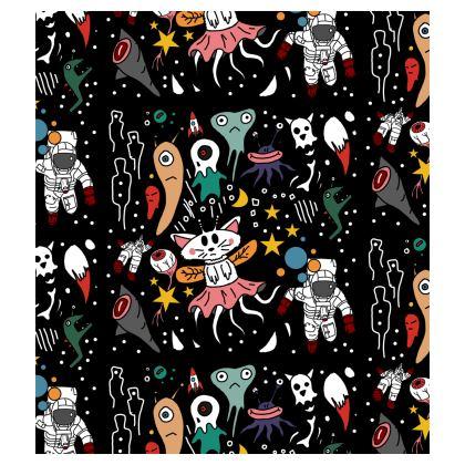 Cute Alien Skater Dress